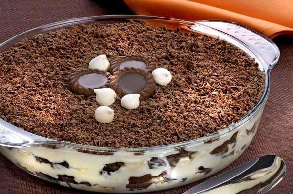 TORTA MERENGUE DE CHOCOLATE