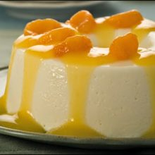 FLÃ DE LARANJA-Sobremesa simples e saborosa para você fazer aproveitar com toda a família