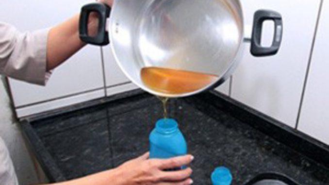 Saiba o que fazer com o todo óleo descartado na sua cozinha