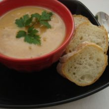 Uma sopa  Eslava  deliciosa   para dias frios.
