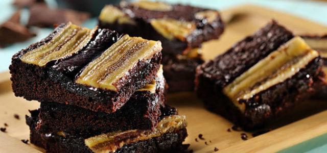 Aprenda a fazer   Brownie com Banana