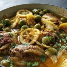 Aprenda a preparar Caçarola de frango ao estilo marroquino