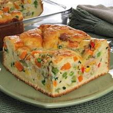 Aprenda a preparar   Torta de liquidificador de atum e legumes