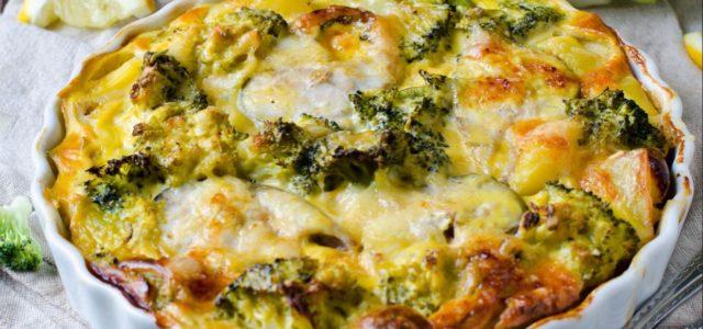 Uma receita pra lá de deliciosa :Brócolis gratinado