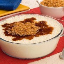 Receita de Mousse de leite condensado com coco queimado.Sobremesa pratica e deliciosa