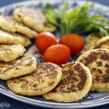 Bolinho de Peixe Grelhado:opção saudável para o almoço!
