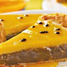 Receita de Torta de Brigadeiro com Maracujá, aprenda como fazer essa delicia de brigadeiro com maracujá, uma receita simples e fácil