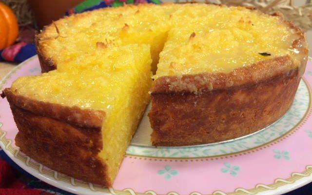 Esse bolo vai bolo de  mandioca vai deixar a sua tarde mais saborosa!